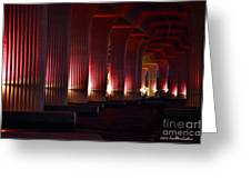 Pink Bridge  Greeting Card