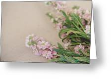 Pink Bunches Greeting Card