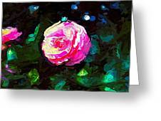 Pink Camille,nishishinjuku Greeting Card