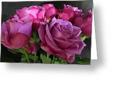 Pink Chiffon Greeting Card