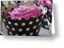 Pink Cupcake Greeting Card