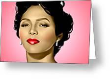 Pink Dorothy Greeting Card