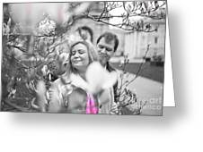 Pink Enchantment  Greeting Card
