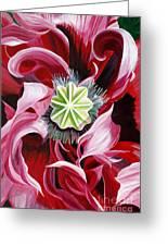 Pink Entanglement Greeting Card