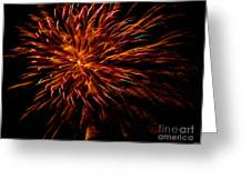 Pink Fire Greeting Card