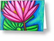 Pink Gem 1 Greeting Card