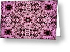 Pink Lace Greeting Card