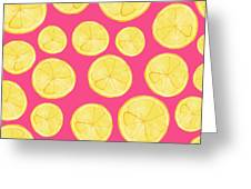 Pink Lemonade Greeting Card