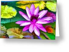 Pink Lotus Gallery  Greeting Card