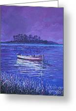 Pink Marsh Greeting Card