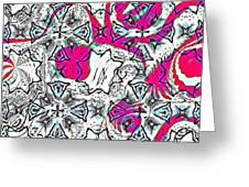 Pink Octopus Greeting Card