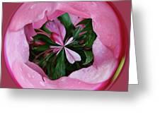 Pink Orb Greeting Card