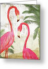 Pink Paradise Greeting Card