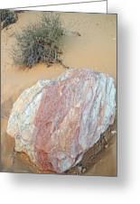 Pink Rock Greeting Card