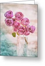 Pink Roses Beauty Greeting Card