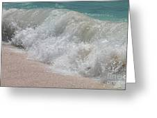 Pink Sand Beaches Greeting Card