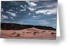 Pink Sand Dunes Np Greeting Card