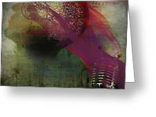 Pink Song Greeting Card by Richard Ricci