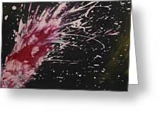 Pink Spark Greeting Card