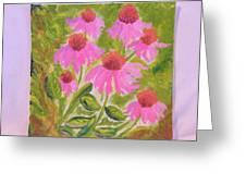 Pink Sunshine Greeting Card