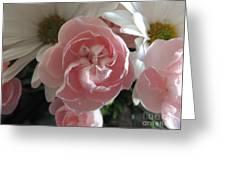 Pink Swirl Greeting Card