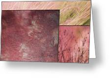 Pink Textures 2 Greeting Card