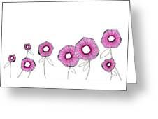 Pink Up Greeting Card