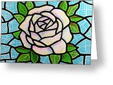Pinkish Rose Greeting Card