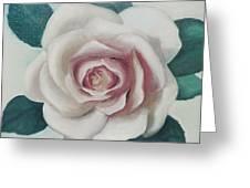 Pinky Flower Greeting Card