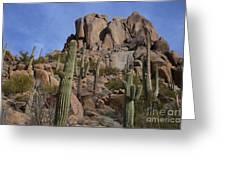 Pinnacle Peak Landscape Greeting Card