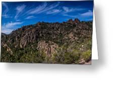 Pinnacles View Greeting Card