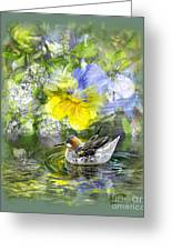 Pintail Pond Greeting Card