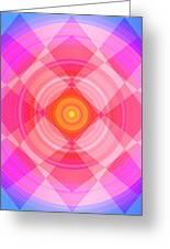 Pinwheel In Motion Greeting Card