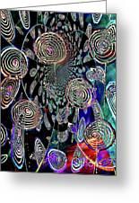 Pinwheels Of Fun Greeting Card