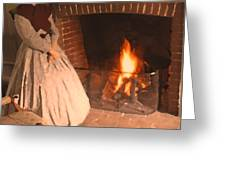 Pioneer Fire Impressions Greeting Card