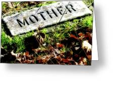 Pioneer Grave Greeting Card