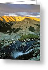 Pioneer Mountains Greeting Card