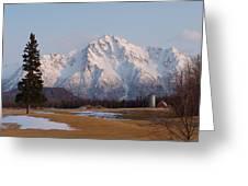 Pioneer Peak Alaska Greeting Card