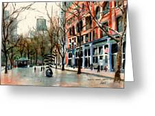 Pioneer Square Greeting Card