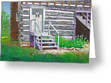 Pioneer Village II Greeting Card