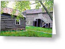Pioneer Village One Greeting Card