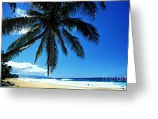 Pipeline Beach Greeting Card