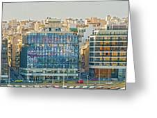 Piraeus, Port Near Athens In Greece Greeting Card