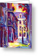 Pirates Alley New Orleans Greeting Card