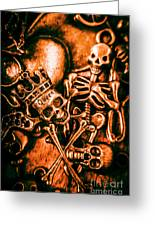 Pirates Treasure Box Greeting Card