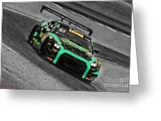Pirelli World Challenge Jd Davison Nissan Gt R Gt3 Greeting Card
