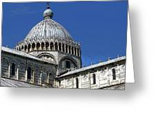 Pisa Cathedral Dome Greeting Card