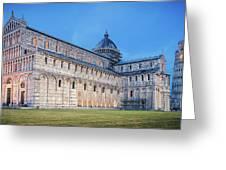 Pisa - Piazza Dei Miracoli Greeting Card