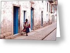 Pisaq Woman Greeting Card