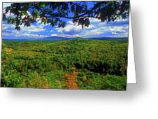 Pisgah State Park Ridge Trail View Greeting Card